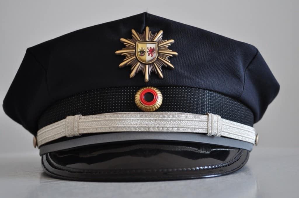 firefighter class A (dress uniform) cap