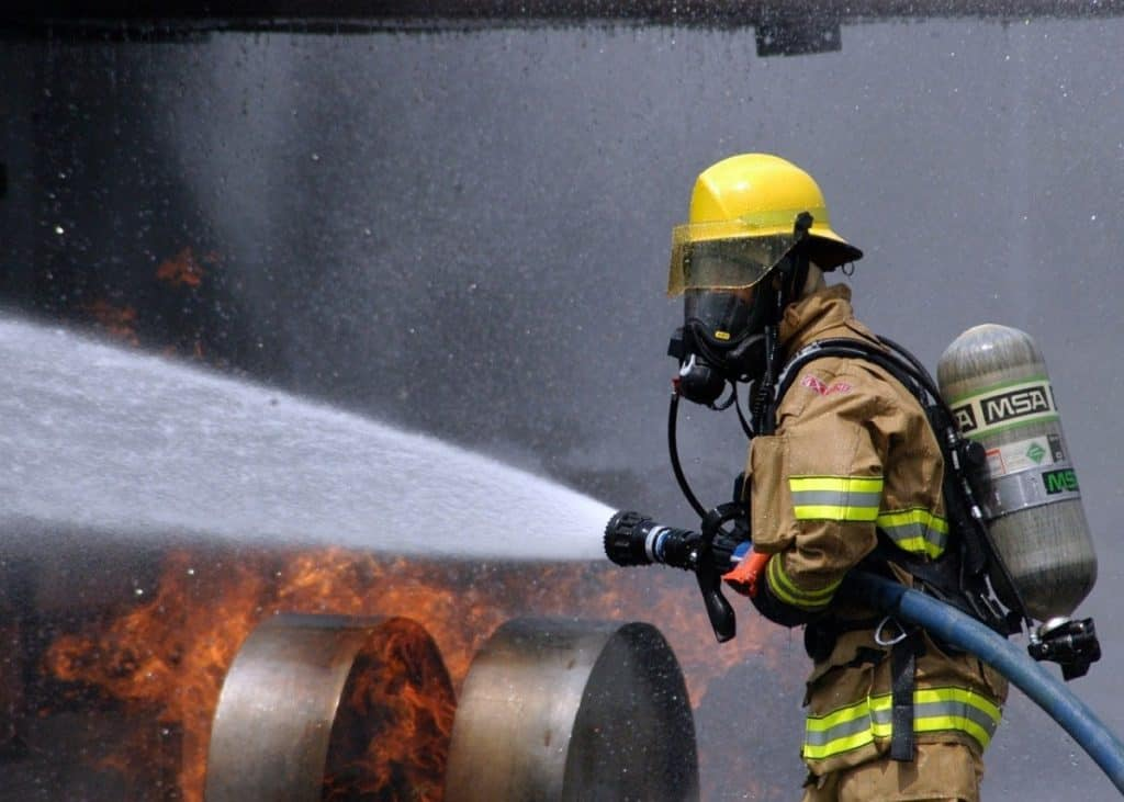 firefighter scba