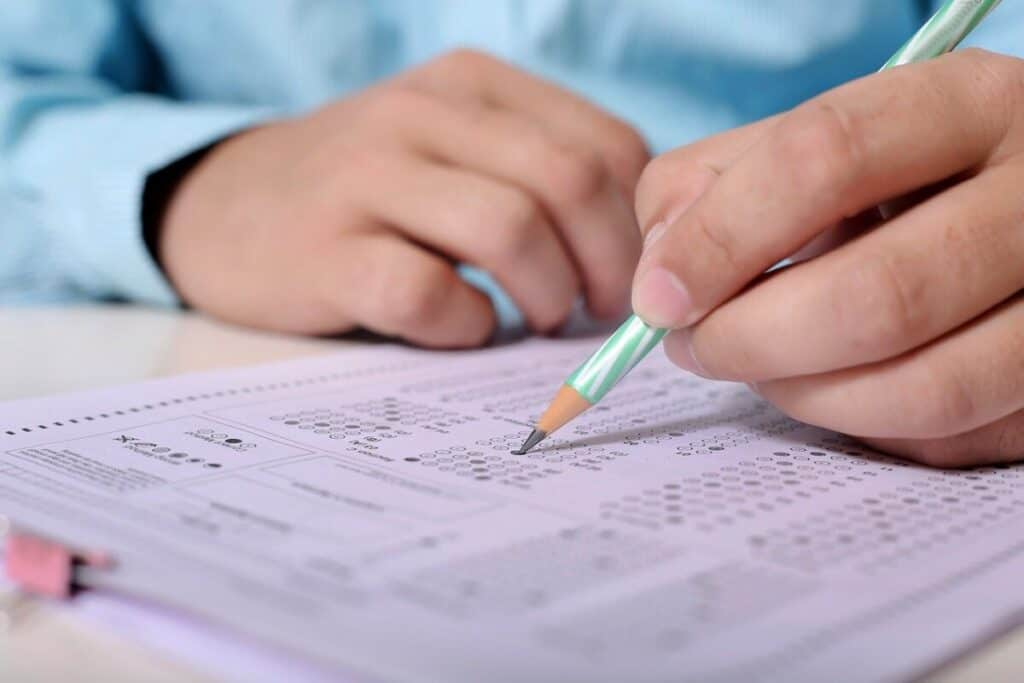 exam/test