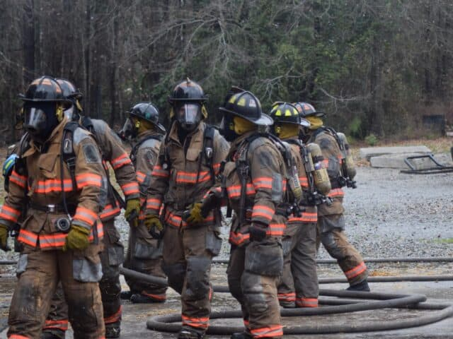 can you be a volunteer firefighter with a full time job