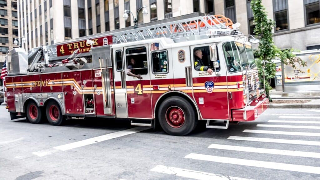 New York Fire Truck 4