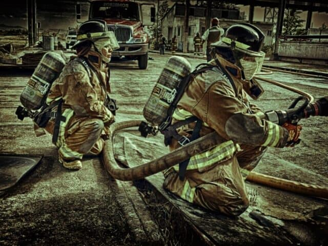 Which is harder police or fire academy?