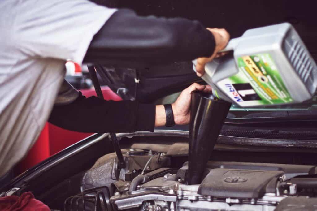 motor oil flammablity