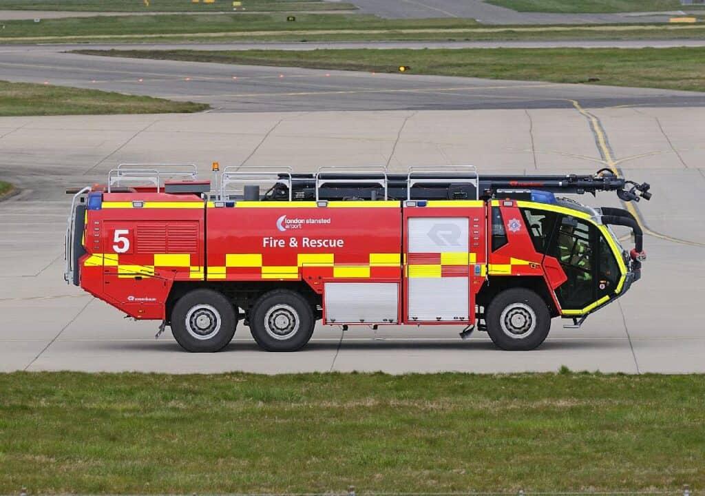 airport fire truck