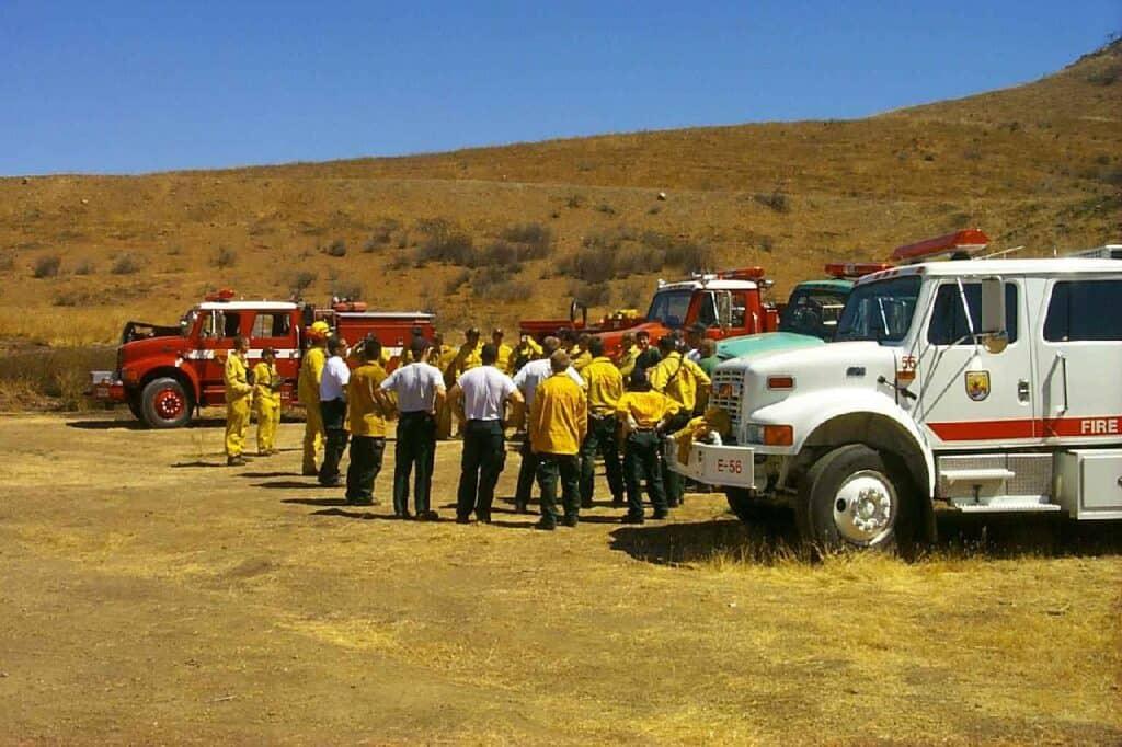 wildland fire engine