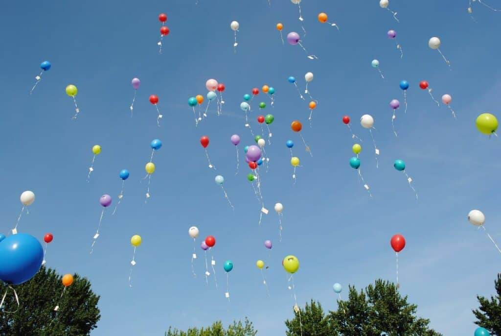 helium balloons, are they flammable?