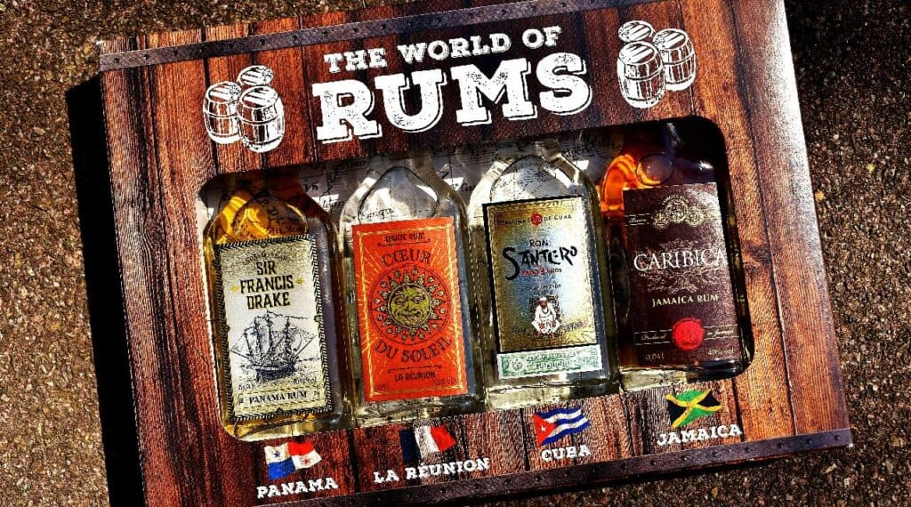 is rum flammable
