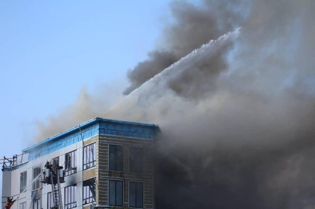 is smoke flammable?