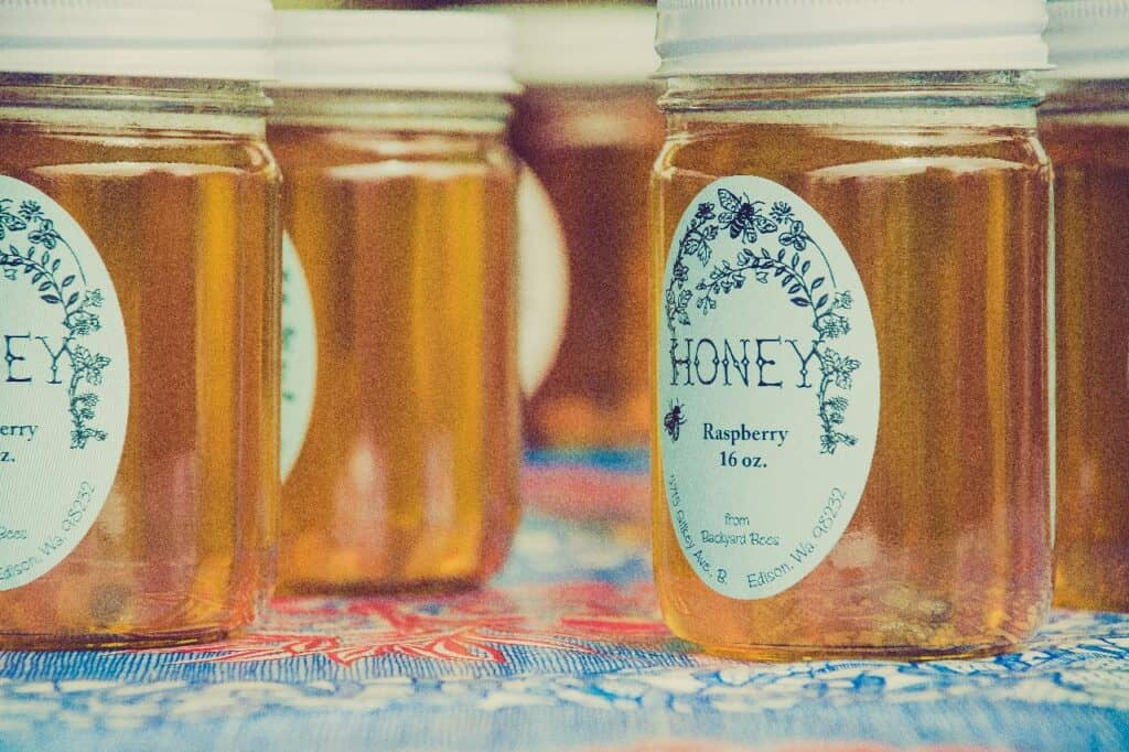 is honey flammable?