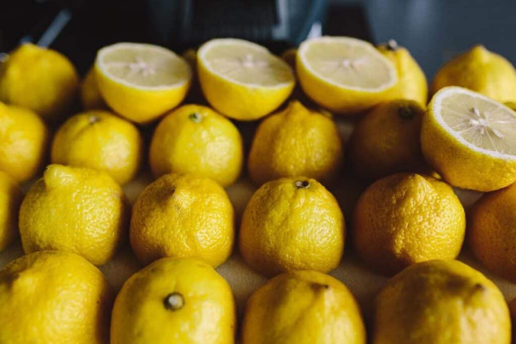 is lemon juice flammable?