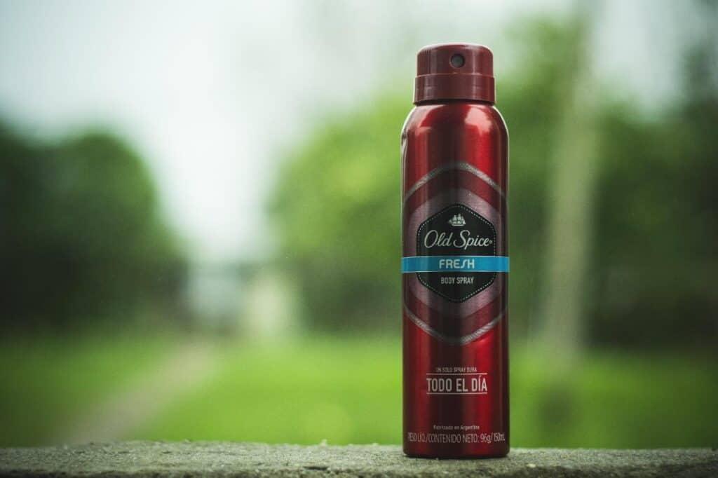 is deodorant flammable?