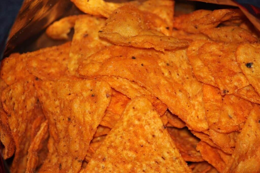 why are Doritos flammable?