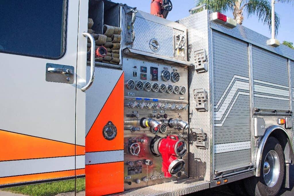 fire engine pump panel