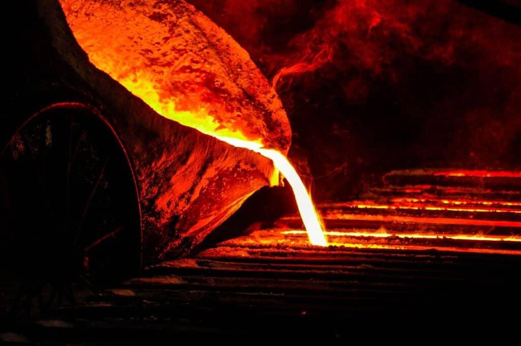 molten metal