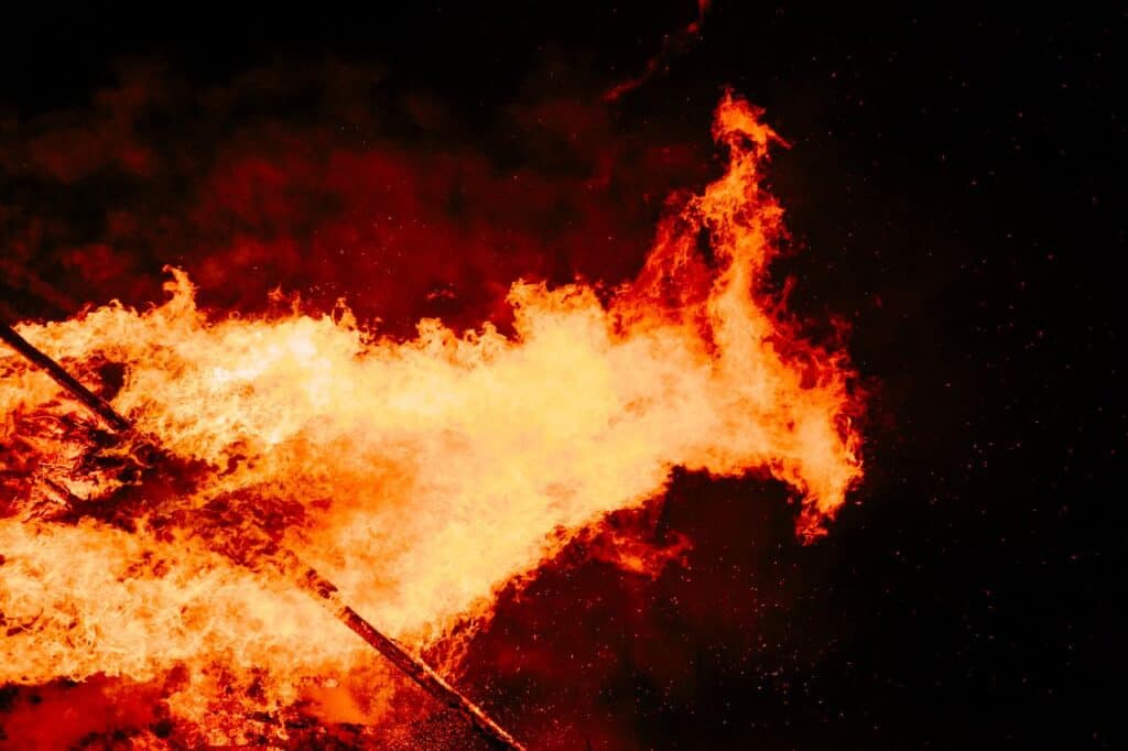 sodium fire
