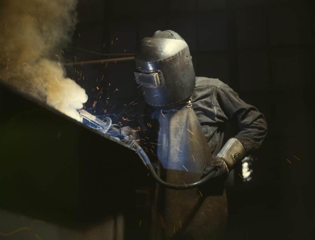 welding (argon)