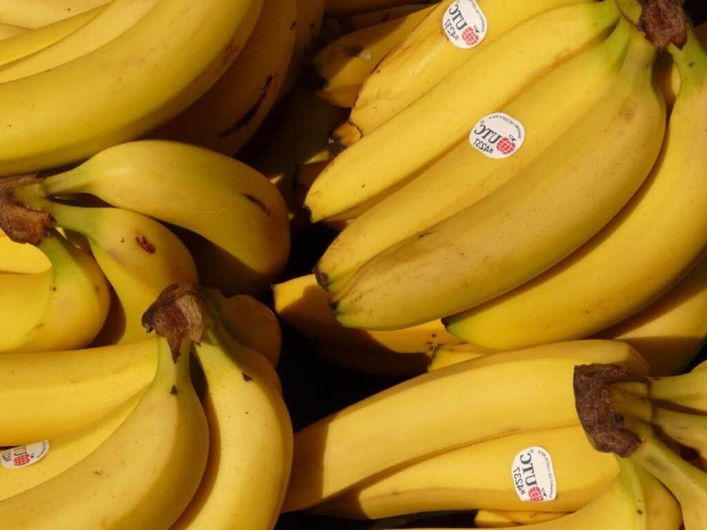 bananas (potassium)
