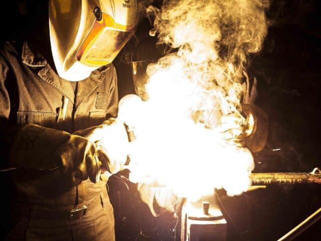 metal fire