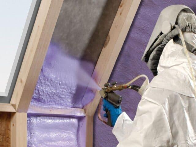 polyurethane spray insulation