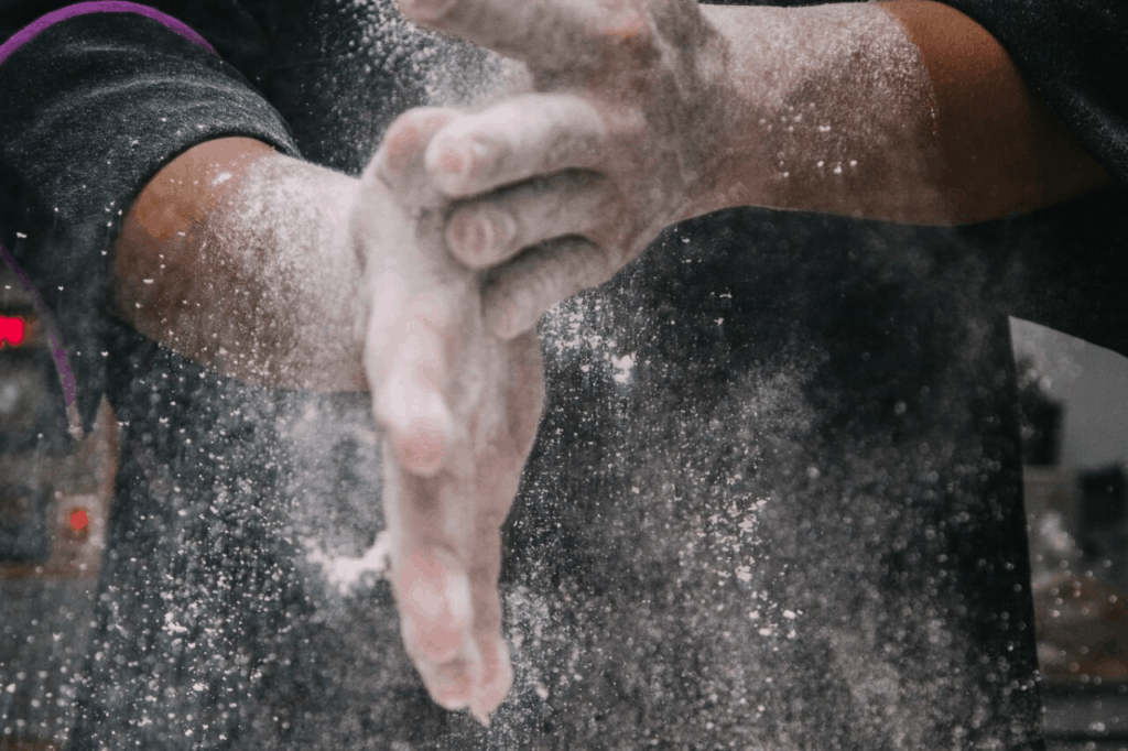 flour dust