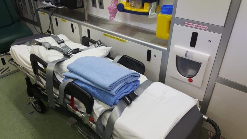 EMT ambulance